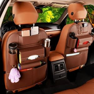new-shopilik-organizer-brown-1-pc-faux-leather-car-back-seat-organizer-
