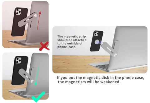 adjustable laptop side mount clip howto